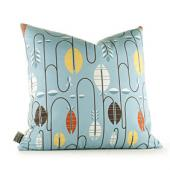 Carnival in Cornflower Pillow
