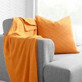 Current in Orange  Studio Pillow