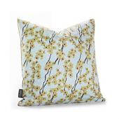 Flowering Pyrus in Cornflower Pillow