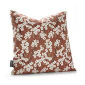 Flowering Pyrus in Rust Pillow