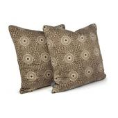 Rhythm in Chocolate  Studio Pillow
