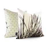 Thatch in Grass Pillow