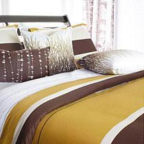Nourish in Amber Full/Queen Duvet Cover only- OUTLET ITEM