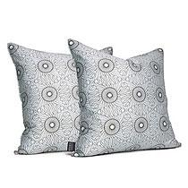 Rhythm in Chocolate  Studio Pillow-OUTLET ITEM