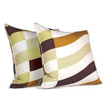Soak in Amber  Studio Pillow-OUTLET ITEM