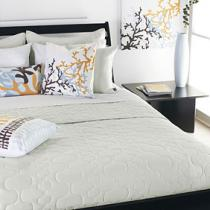 Spa in Mist Quilted Coverlet and Shams