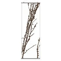 "Undergrowth 2 in Chocolate 24""x78"" Slat- OUTLET ITEM"