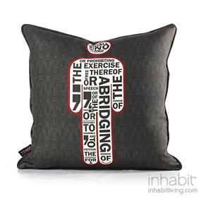 AM 1  in Scarlet Pillow