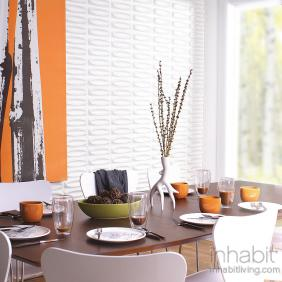 Architect Wall Flats, 3D embossed wall tiles