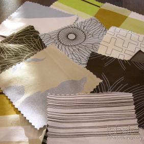 Bedding Fabric Swatch Sample