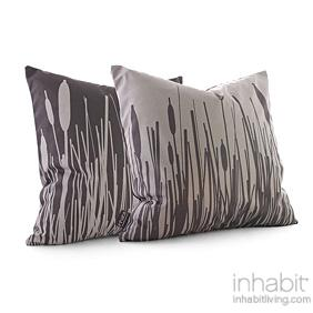 Cattails in Mineral Pillow