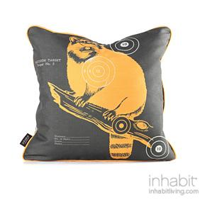 Coon Bullseye in Sunshine Pillow