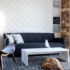 Facet Wall Flats, 3D embossed wall tiles