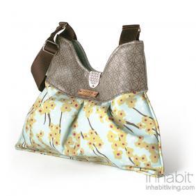 Kennedy Flowering Pyrus in Cornflower Handbag