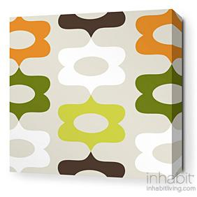 Laugh in Grass and Lime Stretched Wall Art