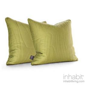 Madera in Moss  Studio Pillow-OUTLET ITEM