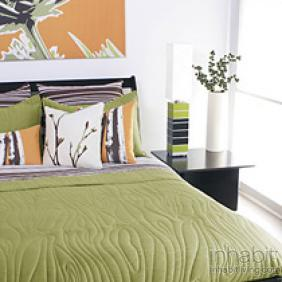 Madera in Moss Quilted Collection- OUTLET ITEM