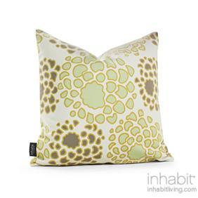 Mum in Grasss and Butterscotch Pillow