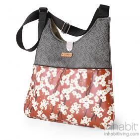 Nixon Flowering Pyrus in Rust Handbag