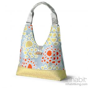 Reagan Mum in Scarlet & Mustard Handbag