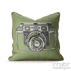 Shutter in Hazelnut & Apricot Pillow