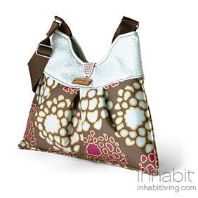 Kennedy Mum in Plum & Cornflower Handbag