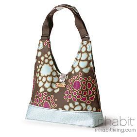 Reagan Mum in Plum & Cornflower Handbag