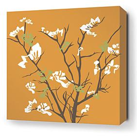 Ailanthus in Sunshine Stretched Wall Art