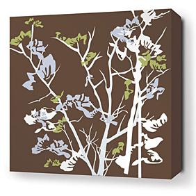 Ailanthus in Chocolate Stretched Wall Art