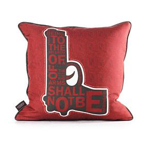 AM 2  in Scarlet Pillow