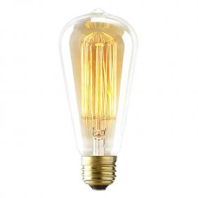 Vintage 60 Watt Reproduction Original Edison Light Bulb