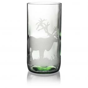 Caribou Clear Drinking Glass