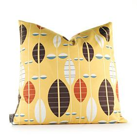 Carousel in Sunflower Pillow
