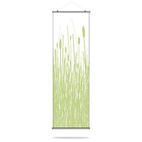 Cattails in Celery Slat