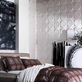 Cirque 3D Wall Flat wall panel