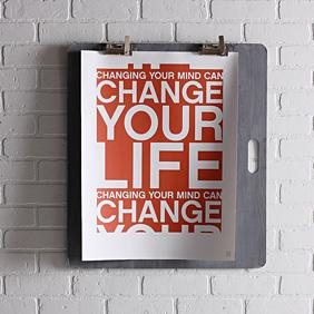 Change Your Life in Rust Print
