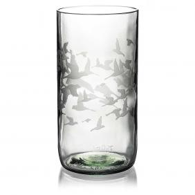 Flock Clear Drinking Glass