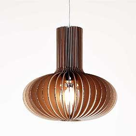 Gibson Sculptural Pendant Light
