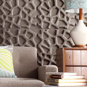 Hive 3D Wall Flat wall panels