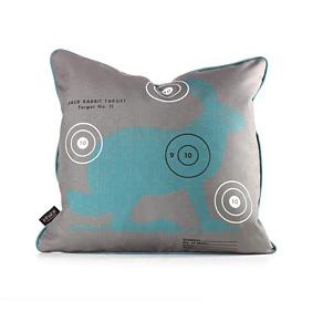 Jack Bullseye in Cornflower Pillow