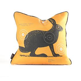 Jack Bullseye in Sunshine Pillow
