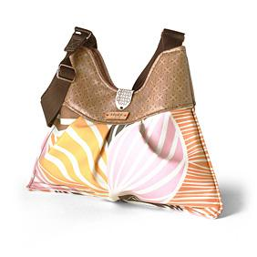 Kennedy Leaf in Blush & Sunshine Handbag