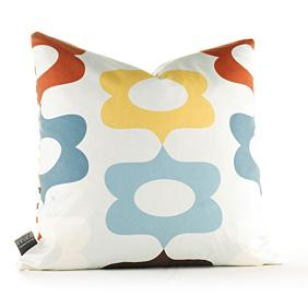 Laugh in Cornflower Pillow