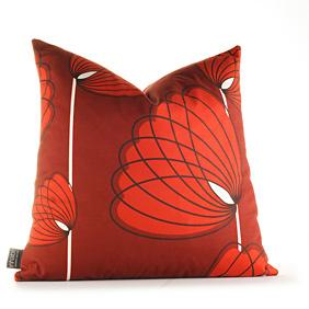 Lotus in Scarlet Pillow