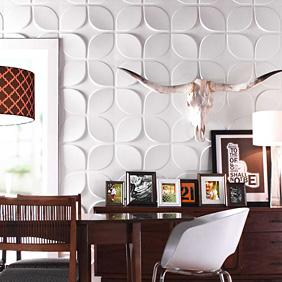 Lotus 3D Wall Flat wall panels