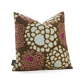 Mum in Plum and Cornflower Pillow