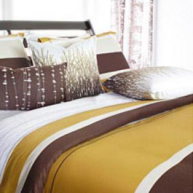 Nourish in Amber Full/Queen Duvet Cover- OUTLET ITEM