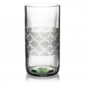 Plus Clear Drinking Glass