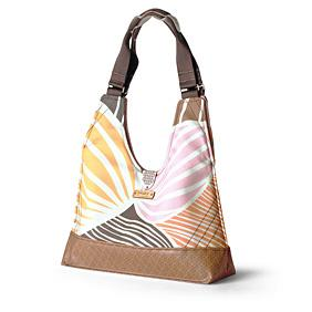 Reagan Leaf in Blush & Sunshine Handbag