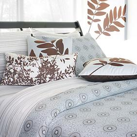 Rhythm in Sky Duvet Cover and Shams